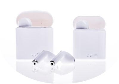 Bluetooth sluchátka i7S mini v bílé barvě bezdrátová sluchátka super cena -5610